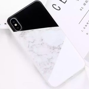 Accessories - Marble iPhone X Silicone Cute Case